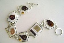 druzy cabochon bracelet