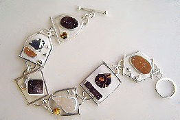 bracelet of druzies