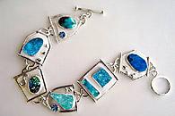druzy bracelet