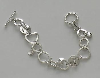 handmade link bracelet