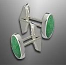 jade cufflinks