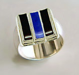 lapis wedding ring