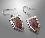 llanite earrings