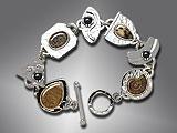 fossil stones bracelet