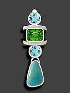 emerald pendant
