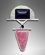 rhodochrosite pendant