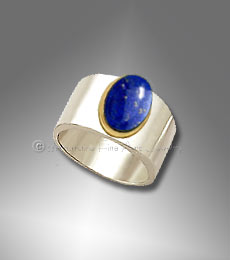men's lapis ring