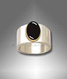 man's onyx ring
