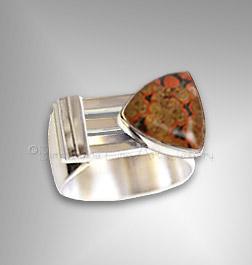 man's jasper ring