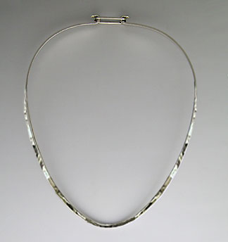 sterling silver neckwire