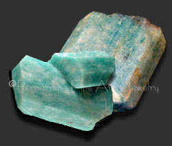 rough amazonite