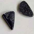black drusy cabs
