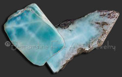 larimar rough
