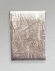 Gibeon meteorite cabochon