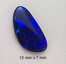 boulder opal cab
