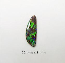green fire boulder opal