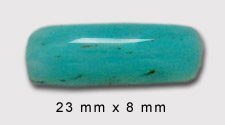 Peruvian opal cabochon