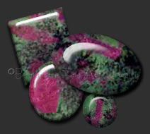 ruby in zoisite cabs