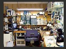 soldering bench